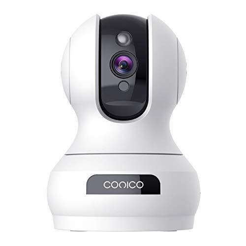 Wireless Security Camera 1536P Pet Camera, CONICO 3MP Dog Cam Baby...