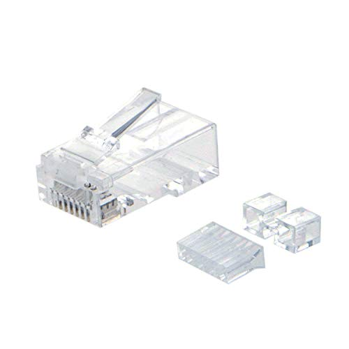 CableCreation Cat 6A RJ45 Modular Plug and connector