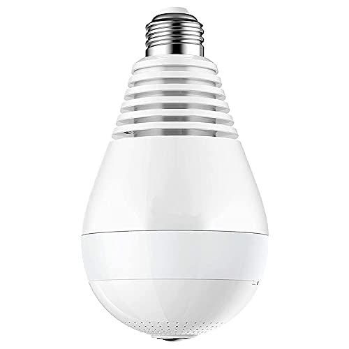 LED Light Bulb Camera, IP Camera 360 Bulb Camera
