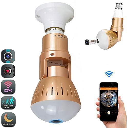 1080P Hidden Camera Wireless LED Bulb