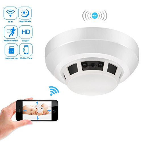 The HEYMOKO smoke detector camera (Wi-Fi editors pick)