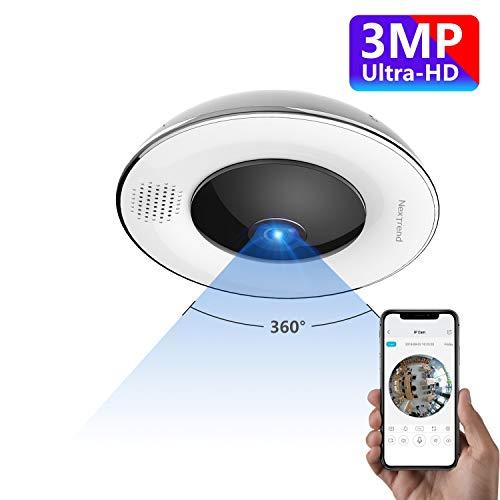 NexTrend 360° Panoramic Wireless WiFi IP Camera