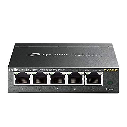 5-Port Gigabit Ethernet Easy Smart Switch