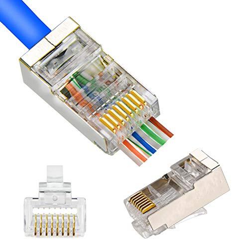 PETECHTOOL RJ45 Shielded Connectors