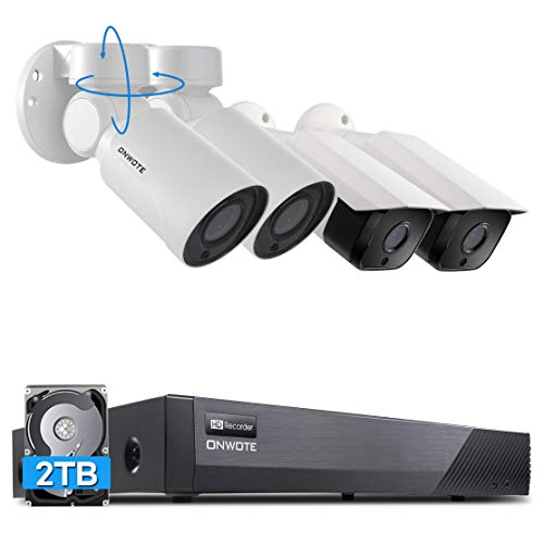 ONWOTE 5MP Super HD PoE Security Camera System