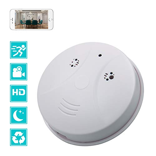 The CAMXSW Wireless smoke detector camera