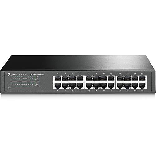 TP-Link - TL-SG1024S 24 Port Gigabit Ethernet Switch