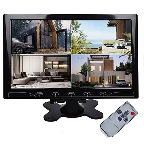 TOGUARD 10.1-inch Ultrathin CCTV Security Monitor – Best CCTV Monitor 10 Inch