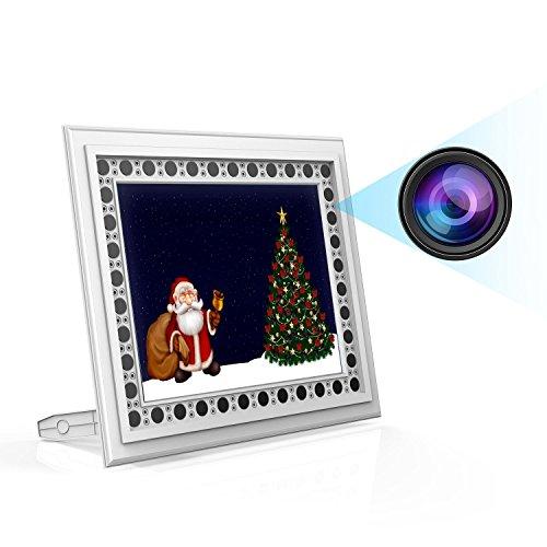 Spy Camera Picture Frame, Conbrov T10 720P Photo Hidden Camera