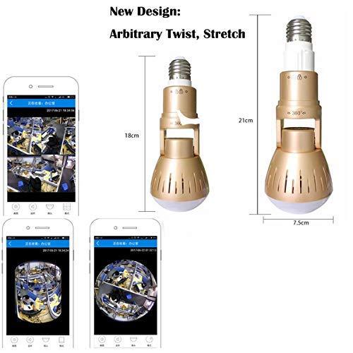 1080P Hidden Camera Wireless LED