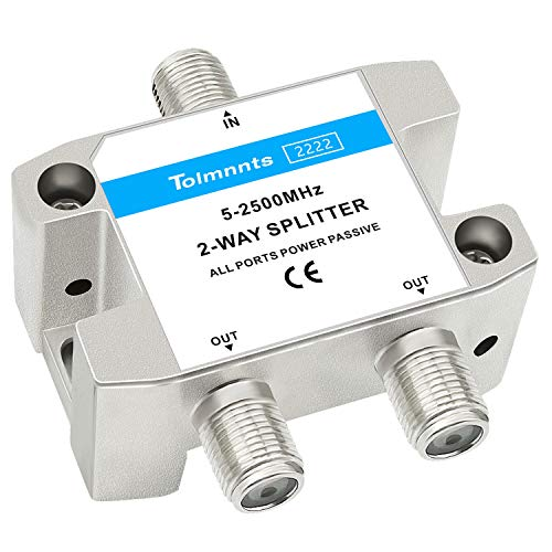 Tolmnnts Coaxial Cable Splitter