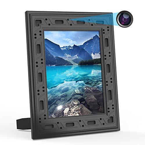 FUVISION Hidden Camera WiFi Photo Frame