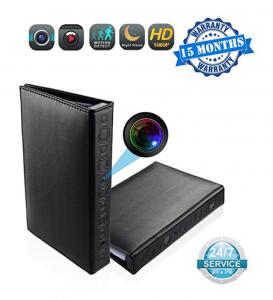 Derateng Portable Spy Camera Book