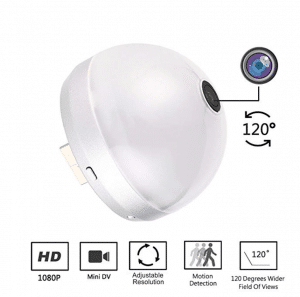 PANNOVA HD 120 Degree Mini Wide Angle Wireless Spy WI-FI Camera