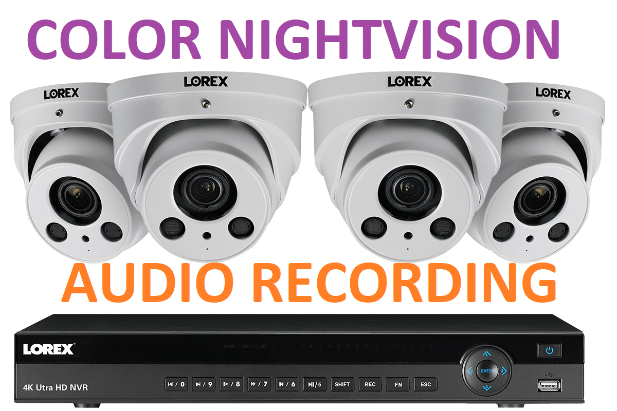 12 - Surveillance Cameras With Audio Recording