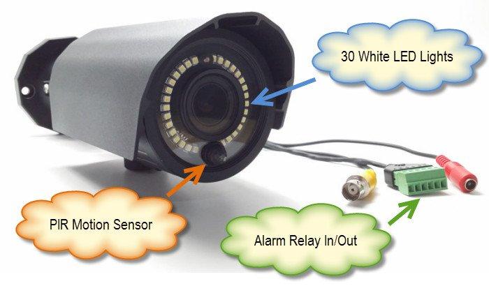45 - Surveillance Cameras With Audio Recording
