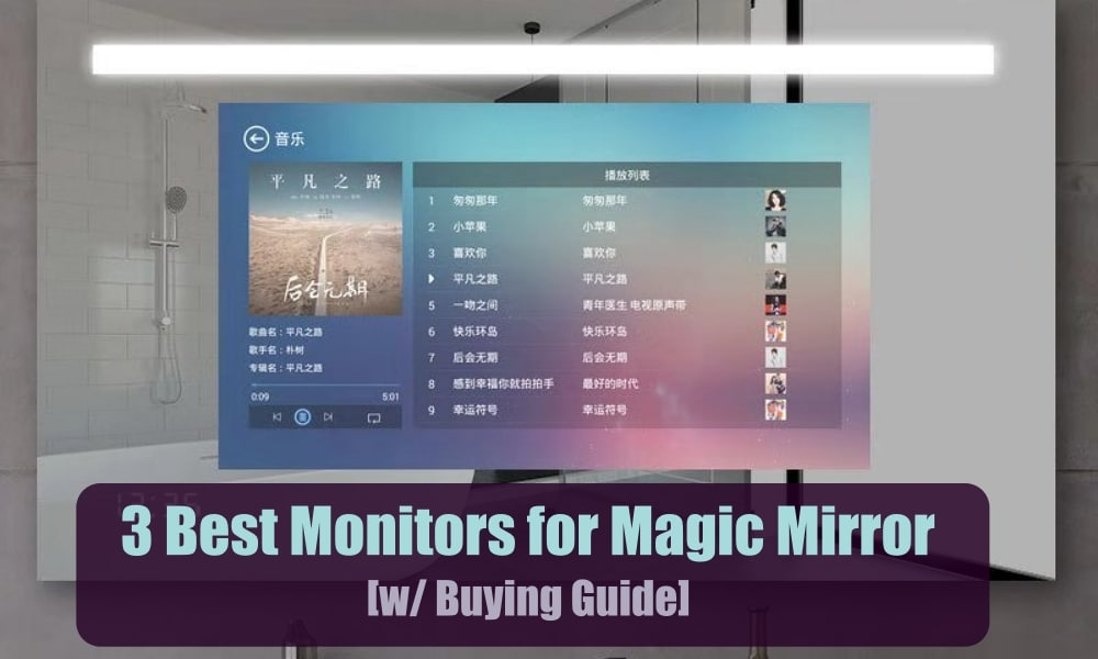 Best Monitor for Magic Mirror